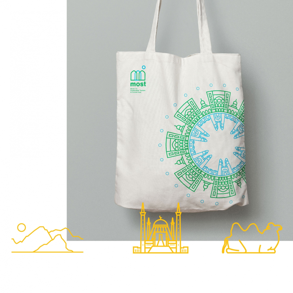most tote bag with details
