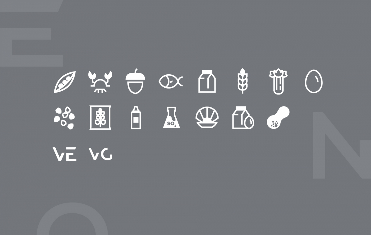 Enorme iconography part of the new visual identity